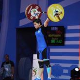 Қазақстандық ауыр атлет Раушан Мешітханова алтын медаль иеленді