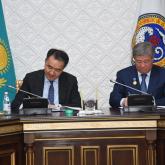 Сағынтаев пен Есімов Алматыны дамыту бойынша меморандумға қол қойды