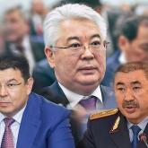 Атамқұлов, Бозымбаев және Тұрғымбаевтың тағы бір-бірден орынбасары болады
