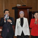 Министр тараздық кәсіпкерге мемлекеттік награда тапсырды