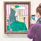 Лондонда Пикассоның 26 млн доллар тұратын картинасын тілгілеп кеткен