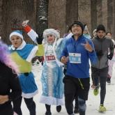 Алматыда дәстүрлі жаңажылдық марафон өтті
