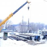 Депутат Шамалған станциясындағы көпір құрылысын тексерді