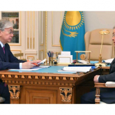 Мемлекет басшысы Жоғары Сот Кеңесінің төрағасын қабылдады