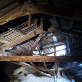 Петропавлда бес қабатты үйдің шатыры опырылып түсті