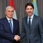 Мемлекет басшысы Канада премьер-министрімен кездесті