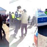 Қордай қақтығысы: полицейлерге күш көрсеткен ағайынды үш жігіт ұсталды