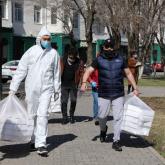 Елорда тұрғындарына 2 миллион медициналық маска тегін таратылды - фотореп