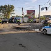 Алматыда блок-бекеттегі көлік апатынан жарақат алған үшінші полицей ауыр халде жатыр (ФОТО)