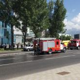 Алматыда жолаушылар автобусы отқа оранды