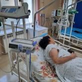 Түркістан дәрігерлері пневмониядан өкпесінің қан тамырлары бітелген науқасты аман алып қалды