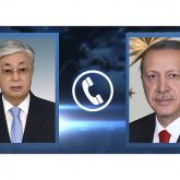 Тоқаев Ердоғанмен телефон арқылы сөйлесті