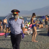 Полиция Алакөл жағалауын күзетке алды
