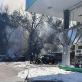 Алматы облысындағы жанармай құю бекетінде жарылыс болды