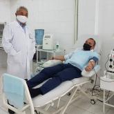 COVID-19-бен ауырған Өскемен әкімінің орынбасары иммундық плазманың доноры болды