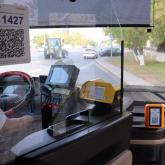 Астана автобустарында енді жолақыны банк картасымен төлеуге болады
