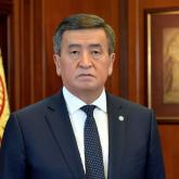 Қырғызстан президенті халыққа тағы да үндеу жасады