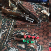 Түркістан облысында үйінде қару мен есірткі сақтаған күдікті ұсталды