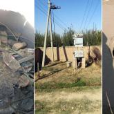 Түркістан облысында арықтан су ішетін, жарығы жиі сөнетін бір ауыл бар