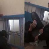 Түркістан облысында терезе торына басы қысылып қалған ер адамға көмек көрсетілді