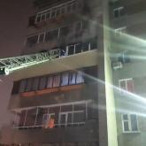Өскеменде тұрғын үйден өрт шығып, 34 адам эвакуацияланды