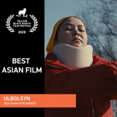 «Ұлболсын» фильмі Таллинде өткен кинофестивальде жүлдегер атанды