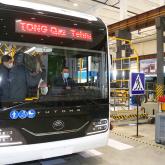 Саран қаласында автобус пен электробус шығарыла бастады