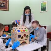 Петропавлда мүмкіндігі шектеулі балаларға арналған алғашқы кабинет ашылды