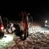 Павлодар облысында қар құрсауында қалған үш адам құтқарылды