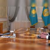 Бердібек Сапарбаев Президентке Қордай ауданындағы ахуал жөнінде баяндады