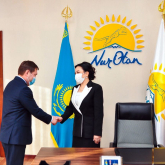 «Nur Otan» партиясы Шымкент қалалық филиалы төрағасының бірінші орынбасары тағайындалды