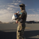 Сириядан бір топ қазақстандықты елге қайтару операциясының видеосы жарияланды