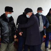 Жамбыл облысының әкімі өрттен қаза тапқан 5 баланың ата-анасының шаңырағына барды