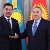 Нұрсұлтан Назарбаев Қырғызстан Президентімен кездесті