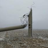 Түркістан облысында бірнеше елдімекен жарықсыз қалды