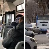 Павлодарда зейнеткерді автобустан күштеп түсірген кондукторға айыппұл салынды