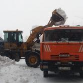 Нұр-Сұлтанда екі мыңдай жұмысшы қар күреуге шықты