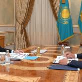 Президент Алтай Көлгіновке қаланы газдандыру мәселесін шешуді тапсырды
