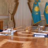 Тоқаев Сенат төрағасын қабылдады: заң жобалары талқыланды
