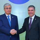 Тоқаев Түрікменстан президентіне көңіл айтты