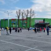 Алматыдағы ірі сауда үйіндегі адамдар эвакуацияланды