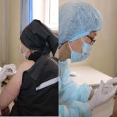 Атырауда жазасын өтеп жатқан әйелдер коронавирусқа қарсы вакцина алды