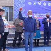 Алматы облысында кәсіпкер 50 адамға баспана сыйламақ