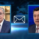 Тоқаев Қырғызстан басшысынақұттықтау жеделхатын жолдады