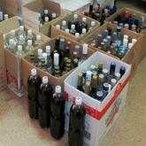 СҚО-да заңсыз айналымнан 100 литр алкоголь тәркіленді