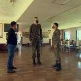 Қазақстан армиясындағы ең ұзын бойлы сарбаз анықталды