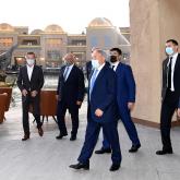 Елбасы Түркістандағы «Керуен-Сарай» көпфункциялы туристік кешеніне барды