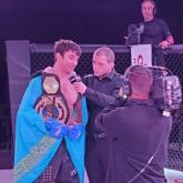 UFC: қазақстандық спортшы қарсыласын 2 минутта нокаутқа жіберді
