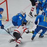 Хоккейден әлем чемпионатында Қазақстан Канададан жеңілді