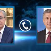 Тоқаев Өзбекстан Президенті Шавкат Мирзиёевпен телефон арқылы сөйлесті